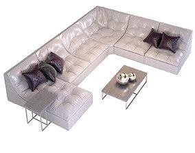 3D Modular sofa bed Estetica Malta