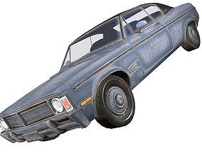 Generic Coupe Car 3D model