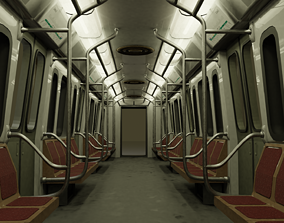 trains Subway train from Buenos Aires metro 3D model