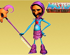 3D printable model Skeletor Motu Masters Of the Universe