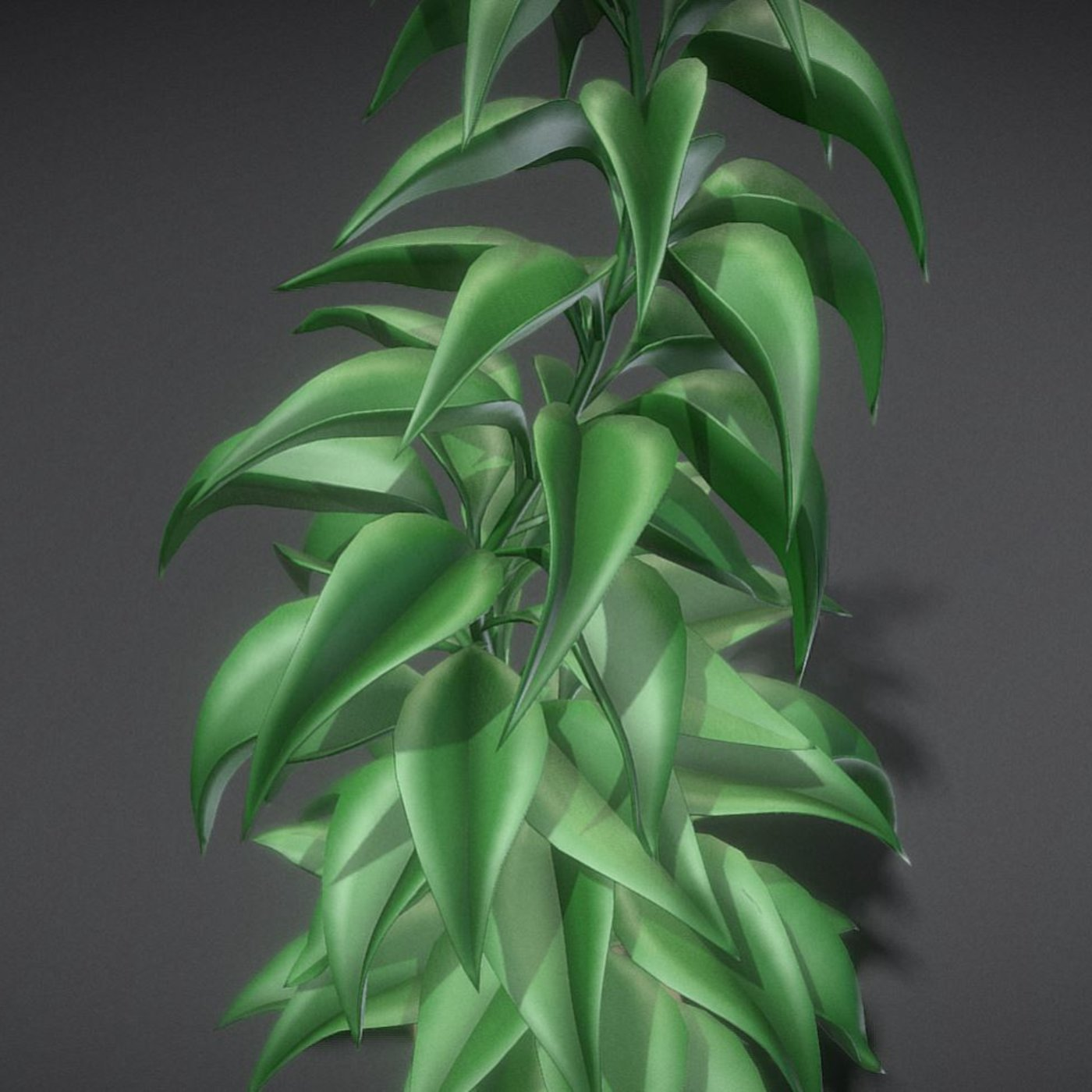 Office Plant 1 Free 3D model High-Poly Blender-2.90.1