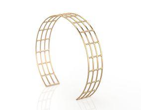 3D printable model Lines Bracelet 1