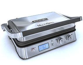 3D model DeLonghi CGH1030 grill