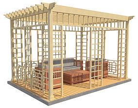 Pergola 18 3D model