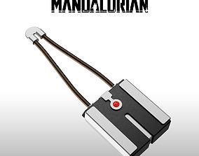 The mandalorian Tracking fob 3D printable model