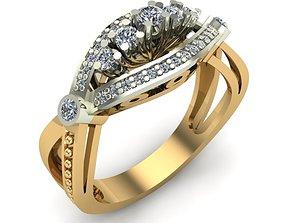 3D print model WOMAN RING jewelry