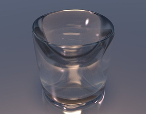 3D Shot Glass