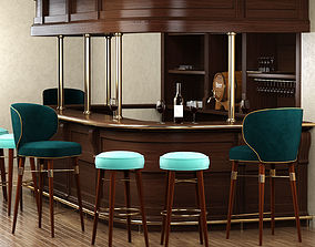 Bar set by Ottiu 3D model