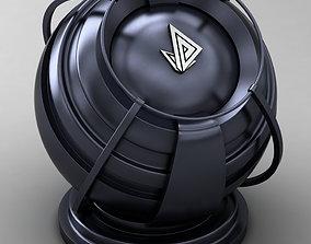 3D model VRAY SHADER---METAL---Bismuth Ferrite