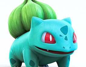 Pokemon Bulbasaur 3D asset