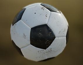 3D asset Soccer Ball PBR Game Ready