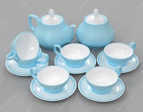 Tea-set furniture 3D model