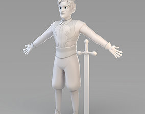 3D Cartoon Prince 03