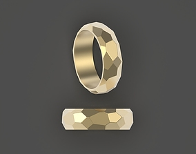 3D printable model Rock ring stylish