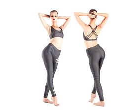 3D asset Scan dancing female 18