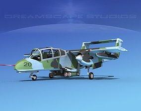 3D Rockwell OV-10 Bronco USMC 3