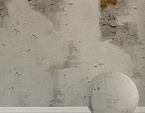 3D model Concrete wall Old concrete 101