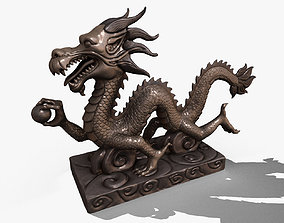 Asian Chinese Dragon 3D Model