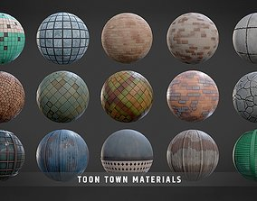 3D model Toon Town Materials Pack
