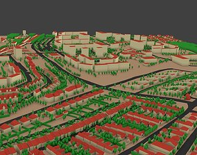 City model low-poly