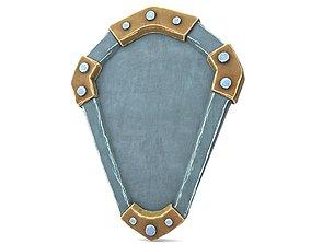 Ancient Shield 3D asset