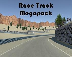 3D model Race Track Megapack