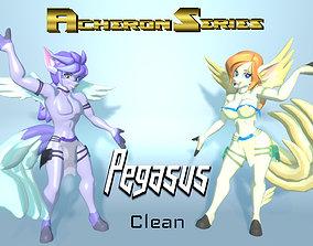 3D asset Acheron Pegasus Clean