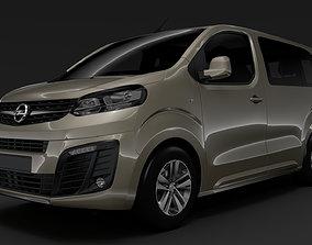 Opel Zafira Life L1 2020 3D