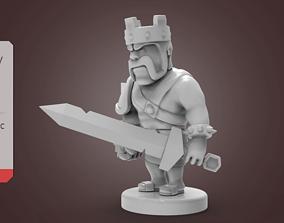 Barbarian King 3D printable model