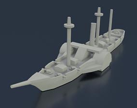 Paraguayan Steam Marques de Olinda 3D print model