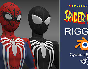 3D model Spectacular Spider - Man Advanced Suit Package