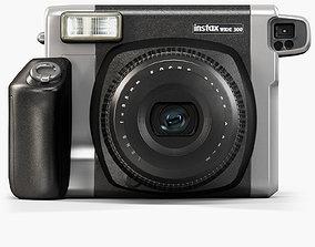3D asset Fujifilm Instax WIDE 300 instant print camera