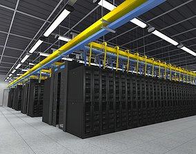 Computer Server Room 3D