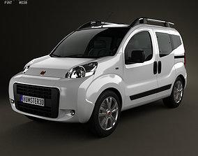 3D model Fiat Fiorino Cubo 2011