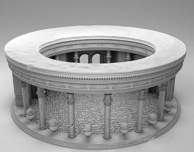 3D printable model Casino Royale Hotel Stock