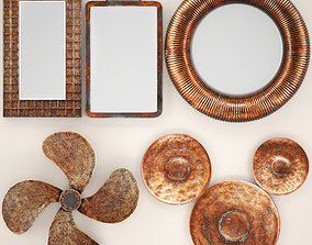 3D Copper collection for walls 2
