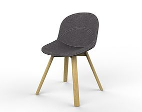 Lunar Chair 3D asset