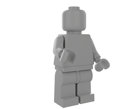 3D model LEGO Minifigure