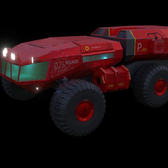 sci fi rover