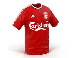 3D model T-Shirt Liverpool