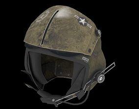 Military Pilot Helmet 3D model