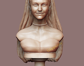 Ariana Grande sculpture Ready to 3D print