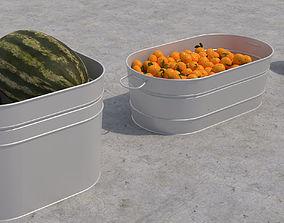 Metal Buckets 3D
