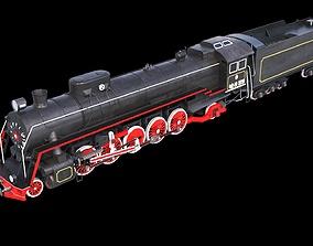 3D model Soviet Locomotive FD 20