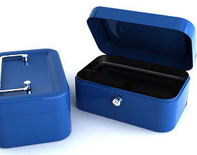 3D Petty cash small change box