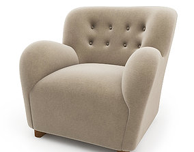 3D model Coustom Lounge Chair