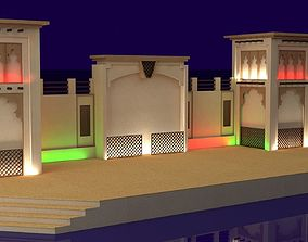 Event stage 3D model
