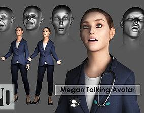 Talking Avatar Doctor Spokesperson IPhone X 3D model