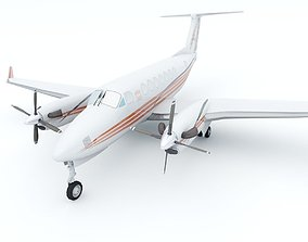 Beechcraft King Air B300 3D model