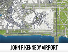 3D asset John F Kennedy International Airport - JFK